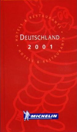 Michelin Red Guide 2001: Deutschland