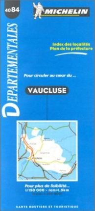 Michelin Map 4084: Vaucluse