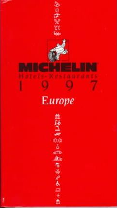 Michelin Red Guide 1997: Main Cities, Europe