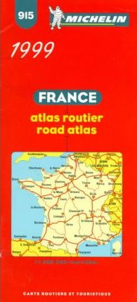 France Main Roads Atlas