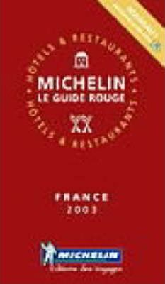 Michelin Red Guide 2003: France