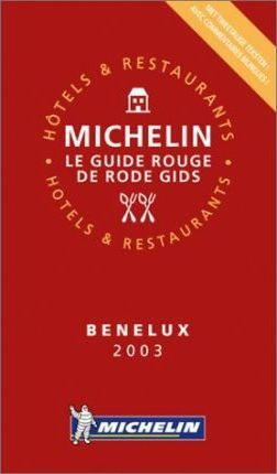 Michelin Red Guide 2003: Benelux