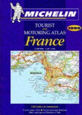 Michelin Motoring Atlas of France 1998