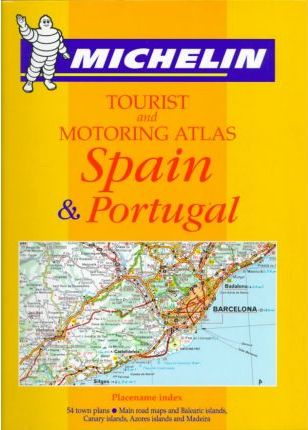 Michelin Tourist and Motoring Atlas Spain and Portugal 1998
