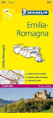 Emilia Romagna - Michelin Local Map 357