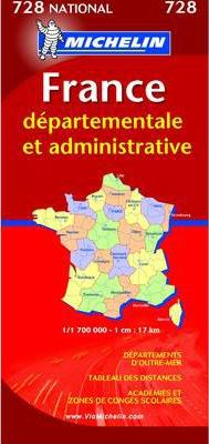 Map 0728 France Administrative 2007