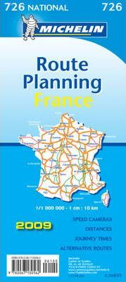 France Route Planning 2009