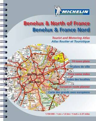 Road Atlas Benelux and N. France 2009