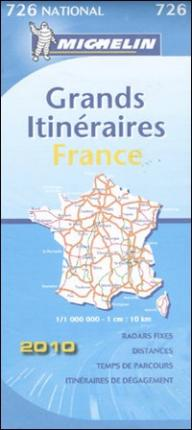 France Route Planning 2010 2010