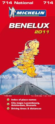 Benelux National Map 2011 2011