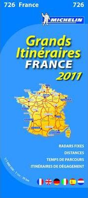 France Route Planning National Map 2011 2011