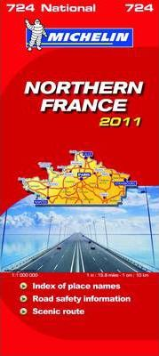 Northern France National Map 2011 2011