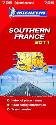 Southern France National Map 2011 2011