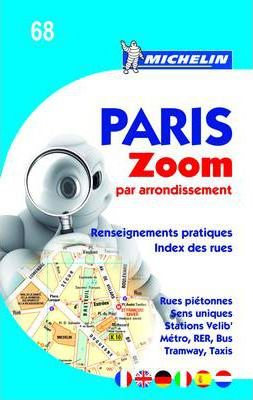 Paris Par Arrondissement - Zoomed City Plan