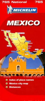 Mexico National Map