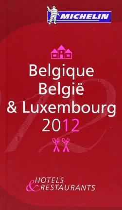 Belgique 2012 Michelin Guide
