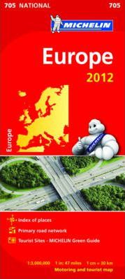 Europe National Map 705