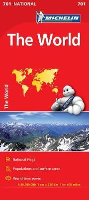 The World - Michelin National Map 701 : Map