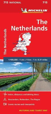The Netherlands - Michelin National Map 715