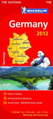 Germany 2012 National Map 718