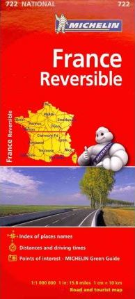 Michelin France, Reversible Map 722