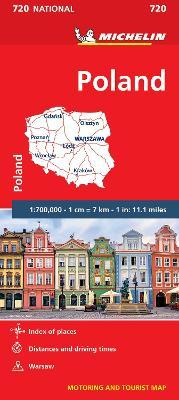 Poland - Michelin National Map 720