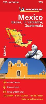Mexico - Michelin National Map 765