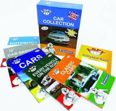 I-Spy Cars Collection
