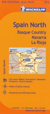 Map Michelin Spain North Basque Country Nav
