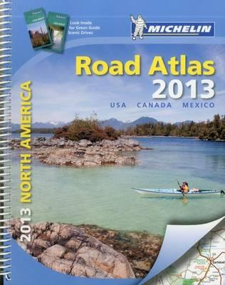 USA, Canada, Mexico Road Atlas 2013