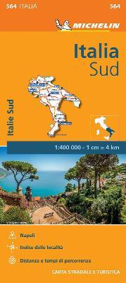 Italy South - Michelin Regional Map 564 : Map