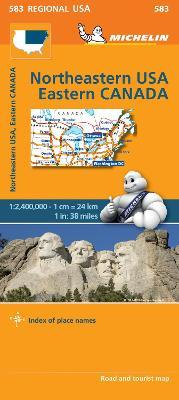 Northeastern USA, Eastern Canada - Michelin Regional Map 583