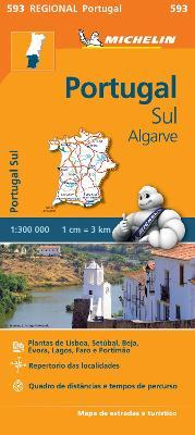 Portugal Sud - Algrave - Michelin Regional Map 593 : Map