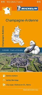 Champagne-Ardenne - Michelin Regional Map 515 : Map