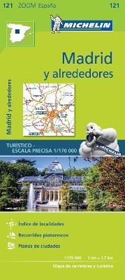 Madrid y alrededores - Zoom Map 121 : Map