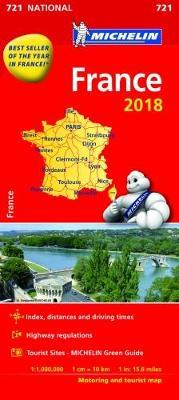 France 2018 National Map 721 2018