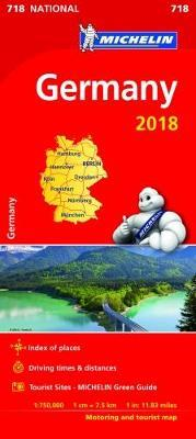Germany 2018 National Map 718 2018
