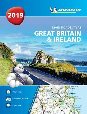 Great Britain & Ireland 2019 -Tourist & Motoring Atlas A4 Paperback 2019