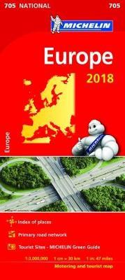 Europe 2018 National Map 705