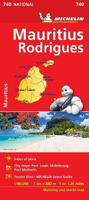 Maurice (Mauritius) - Michelin National Map 740 : Map