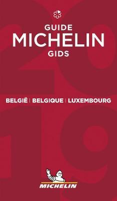 Belgie Belgique Luxembourg -The MICHELIN Guide 2019 : The Guide Michelin