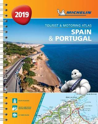 Spain & Portugal 2019 - Tourist and Motoring Atlas (A4-Spirale) : Tourist & Motoring Atlas A4 spiral