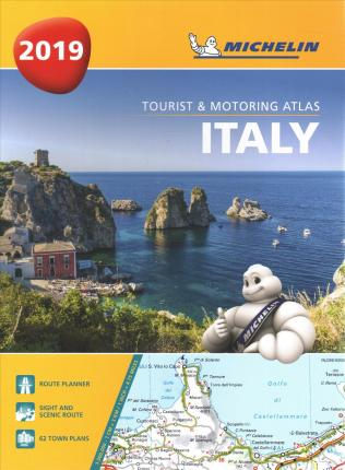 Italy - Tourist and Motoring Atlas 2019 (A4-Spirale) : Tourist & Motoring Atlas A4 spiral