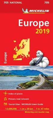 Europe 2019 - Michelin National Map 705 : Map