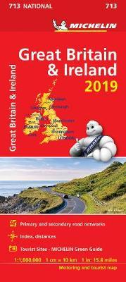 Great Britain & Ireland 2019 - Michelin National Map 713 : Map