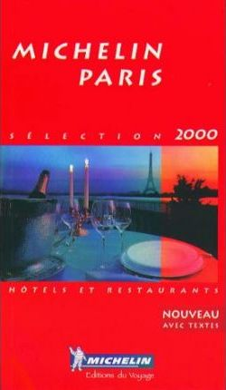 Michelin Red Guide 2000: Paris