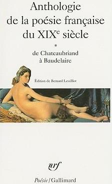 Anthologie de la poesie francaise du XIXe siecle vol.1