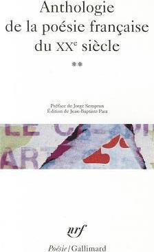 Anthologie de la poesie francaise du XXe siecle vol.2