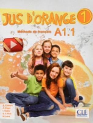 Jus d'orange : Livre de l'eleve + DVD A1.1