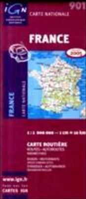 France Roads and Motorways 1995